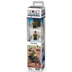MEGA BLOKS 224 Xếp hình kiểu Lego MILITARY ARMY Army Troop Military Soldier Lính Quân đội 49 khối