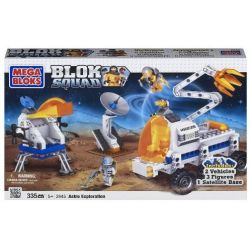 MEGA BLOKS 2445 Xếp hình kiểu Lego CITY Astro Exploration Space Exploration Thám Hiểm Không Gian 335 khối