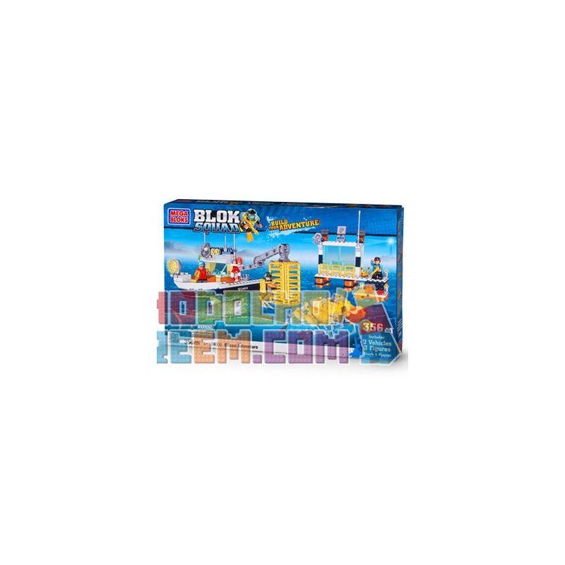 MEGA BLOKS 24008 Xếp hình kiểu Lego CITY Ocean Adventure Marine Adventure Cuộc Phiêu Lưu Trên đại Dương 354 khối