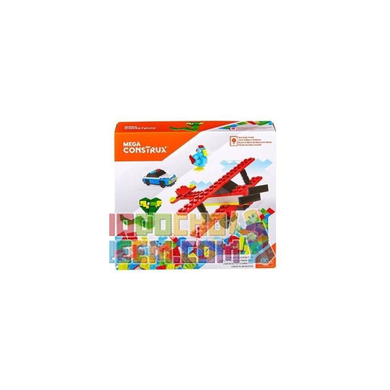 MEGA BLOKS FRB51 Xếp hình kiểu Lego Dynamic Box Of Blocks Vital Box Hộp Sinh Lực 330 khối