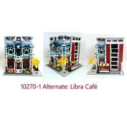 REBRICKABLE MOC-36027 36027 MOC36027 Xếp hình kiểu Lego CREATOR Libra Cafe 10270 Sets Libra Cafe 10270 Bộ 2287 khối