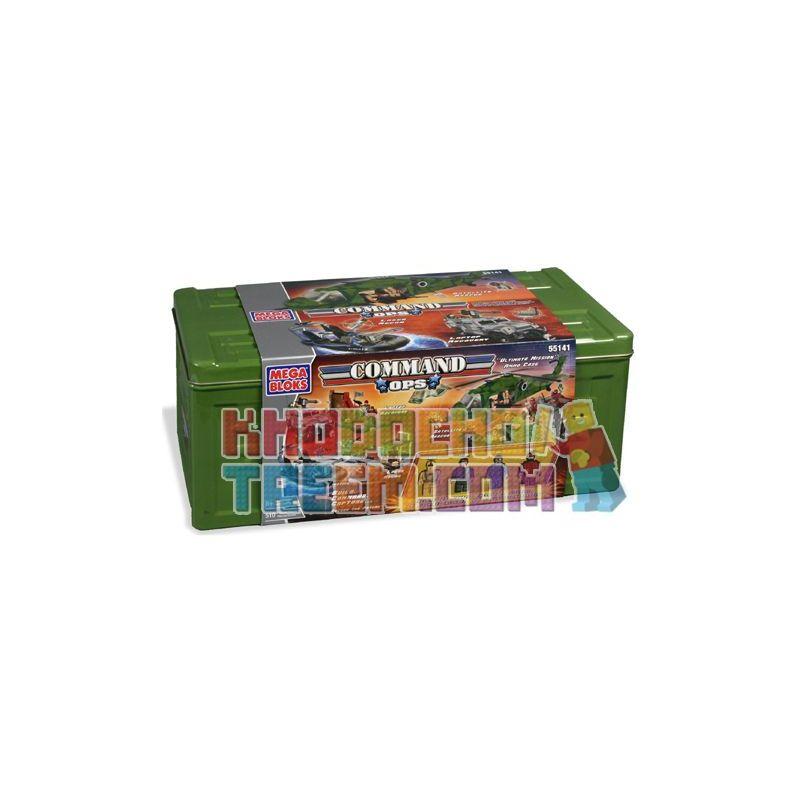 MEGA BLOKS 55141 Xếp hình kiểu Lego Deluxe Ammo Case Advanced Eplastic Box Hộp Tiếp đạn Tiên Tiến 510 khối