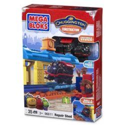 MEGA BLOKS 96611 Xếp hình kiểu Lego Repair Shed Maintenance Shed Kho Bảo Dưỡng 36 khối