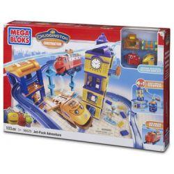 MEGA BLOKS 96629 Xếp hình kiểu Lego Jet Pack Adventure Jet Backpack Adventure Chuyến Phiêu Lưu Jetpack 103 khối
