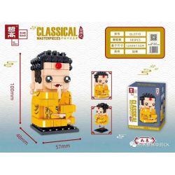 ZHEGAO QL2310 2310 Xếp hình kiểu Lego BRICKHEADZ Classical Masterpieces China's Four Famous Trips Nyorai 185 khối