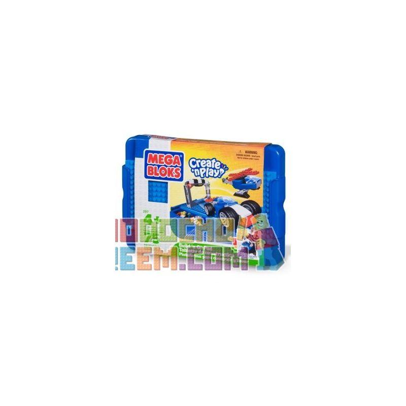 MEGA BLOKS 297 Xếp hình kiểu Lego Build 'n Go Pad (boys) Build 'n Go Pad (boy) Build'n Go Pad (Cậu Bé) 75 khối