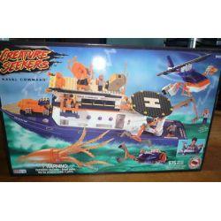 MEGA BLOKS 9101 Xếp hình kiểu Lego Naval Command Naval Order Bộ Tư Lệnh Hải Quân 575 khối