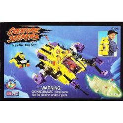 MEGA BLOKS 9105 Xếp hình kiểu Lego Scuba Quest Underwater Exploration Khám Phá Dưới Nước 300 khối