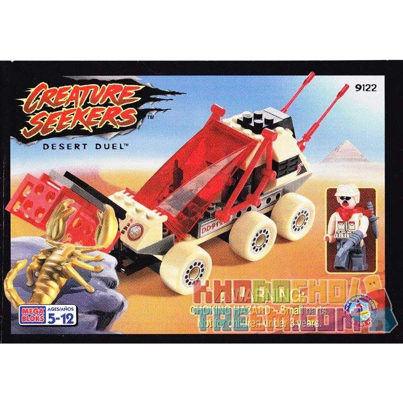 MEGA BLOKS 9122 Xếp hình kiểu Lego Desert Duel Đấu Trên Sa Mạc 75 khối