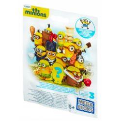 MEGA BLOKS CNF46 Xếp hình kiểu Lego FROZEN Buildable Minions Blind Packs Series III {Random Bag} Small Yellow People Blind Box Series 3 (random Package) Little Yellow Man Blind Box Series 3 (gói Ngẫu