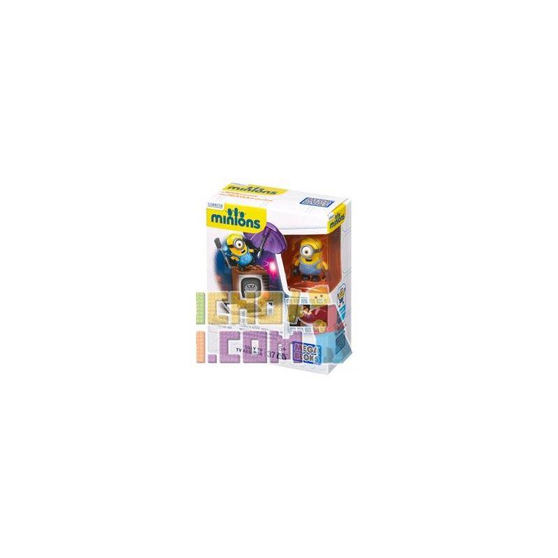 MEGA BLOKS CNF49 Xếp hình kiểu Lego Silly TV Stupid TV Tv Ngu Ngốc 37 khối