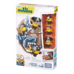 MEGA BLOKS CNF54 Xếp hình kiểu Lego Shark Bait Mồi Cá Mập 72 khối
