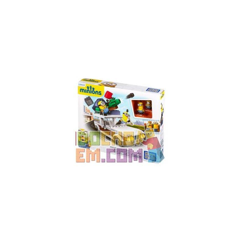 MEGA BLOKS CNF56 Xếp hình kiểu Lego Station Wagon Getaway Travel Car Vacation Kỳ Nghỉ Toa Xe 188 khối