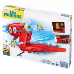 MEGA BLOKS CNF60 Xếp hình kiểu Lego Supervillain Jet Super Bad Guy Jet Airplane Máy Bay Phản Lực Siêu Phản Diện 472 khối