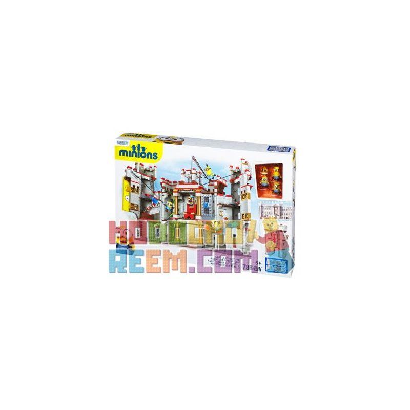 MEGA BLOKS CNT39 Xếp hình kiểu Lego CASTLE Castle Adventure Cuộc Phiêu Lưu Trong Lâu đài 786 khối