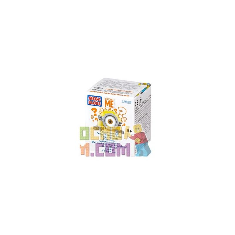 MEGA BLOKS CNT40 Xếp hình kiểu Lego FROZEN Buildable Minions Blind Packs Series II {Random Bag} Small Yellow People Blind Box Series 2 (random Bag) Little Yellow Man Blind Box Series 2 (gói Ngẫu Nhiên
