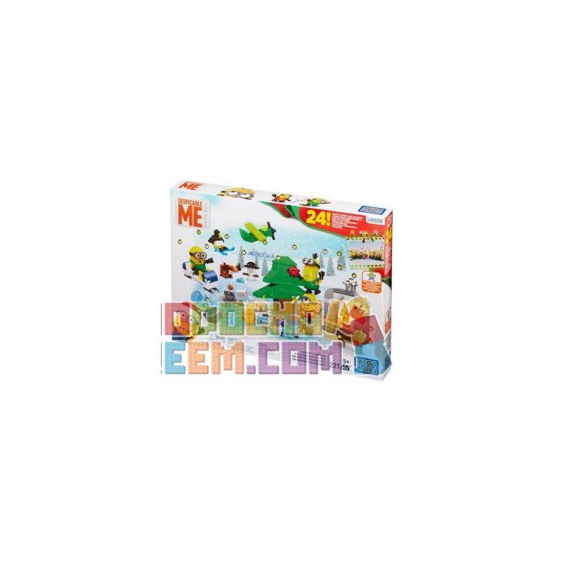MEGA BLOKS CPC57 Xếp hình kiểu Lego Advent Calendar Adventure Calendar Lịch Phiêu Lưu 221 khối