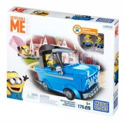 MEGA BLOKS DKT69 Xếp hình kiểu Lego MOTO Motor Mischief Car Prank Trò đùa ô Tô 176 khối