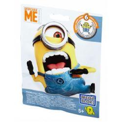 MEGA BLOKS DKW82 Xếp hình kiểu Lego Buildable Minions Blind Packs Series VI Small Yellow People Blind Box Series 4 (random Bag) Little Yellow Man Blind Box Series 4 (gói Ngẫu Nhiên) 10 khối