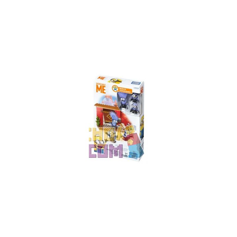 MEGA BLOKS DKX77 Xếp hình kiểu Lego Fortress Break-In Fortress Breakthrough Phá Pháo đài 70 khối