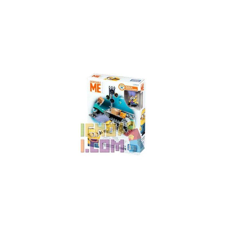 MEGA BLOKS DKY85 Xếp hình kiểu Lego Mailroom Mania Mail Room Thư Phòng Hưng Cảm 55 khối