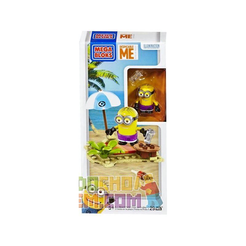 MEGA BLOKS 94809 Xếp hình kiểu Lego Beach Party Bữa Tiệc Trên Bãi Biển 29 khối