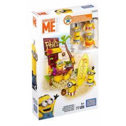 MEGA BLOKS DPG70 Xếp hình kiểu Lego Island Chaos Đảo Hỗn Loạn 77 khối