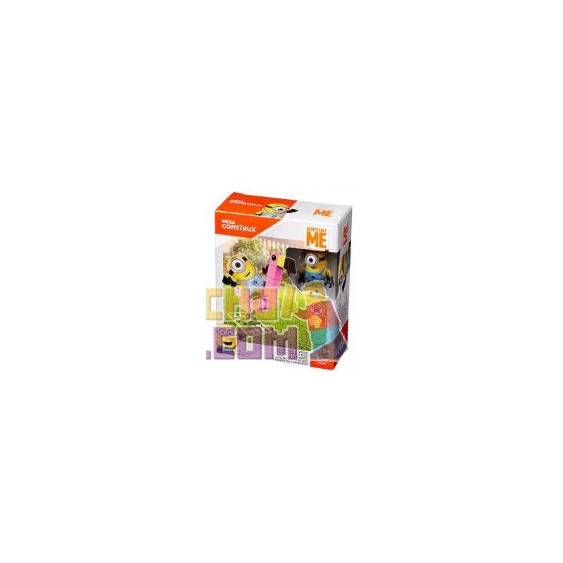 MEGA BLOKS DYD30 Xếp hình kiểu Lego Flamingo Joyride Flame Wind Ngọn Lửa Gió. 33 khối