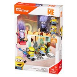 MEGA BLOKS DYD37 Xếp hình kiểu Lego Lair Break-In Chao Breakthrough Đột Phá Hang ổ 77 khối