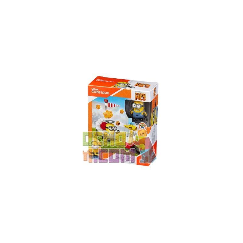 MEGA BLOKS FDX73 Xếp hình kiểu Lego Cheese Shootout Cheese Gun Battle Đá Luân Lưu Pho Mát 30 khối