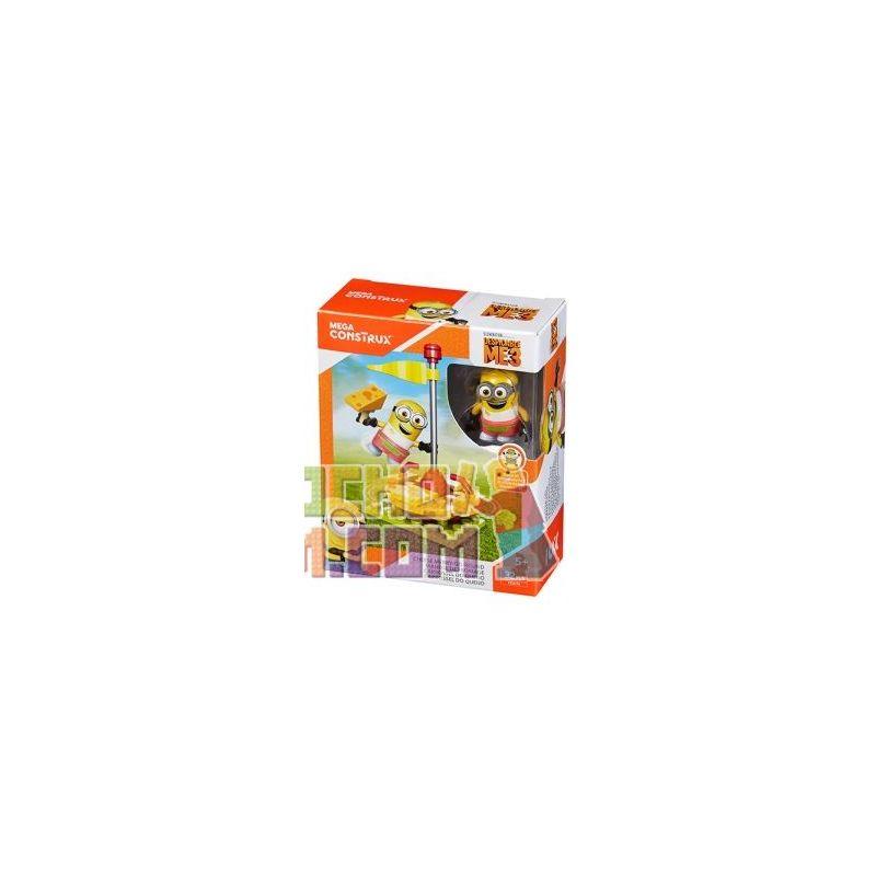 MEGA BLOKS FDX74 Xếp hình kiểu Lego Cheese Merry-Go-Round Cheese Rotating Trojan Băng Chuyền Pho Mát 32 khối