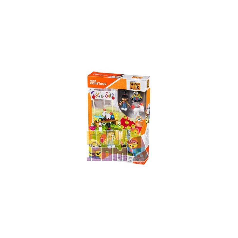 MEGA BLOKS FDX79 Xếp hình kiểu Lego Agnes' Toy Sale Agnes Toy Sales Cuộc Họp Bán đồ Chơi Của Agnes 70 khối