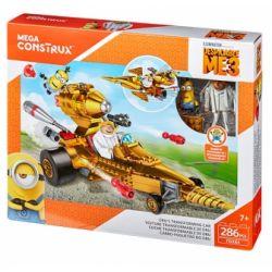 MEGA BLOKS FDX84 Xếp hình kiểu Lego Dru's Transforming Car DRU Deformation Car Xe Biến Hình Của Dru 286 khối