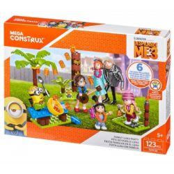 MEGA BLOKS FHY38 Xếp hình kiểu Lego Family Luau Party Family Hawaiian Banquet Bữa Tiệc Hawaii Gia đình 123 khối