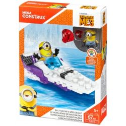 MEGA BLOKS FLG00 Xếp hình kiểu Lego Balthazar's Speedboat Balthazar Speedboat Tàu Cao Tốc ở Balthazar 67 khối