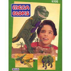 MEGA BLOKS 9702 Xếp hình kiểu Lego Tyrannosaurus Rex Tyrant Khủng Long Bạo Chúa 740 khối