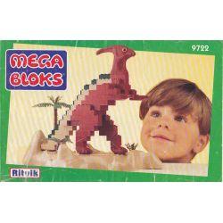 MEGA BLOKS 9722 Xếp hình kiểu Lego Parasaurolophus Deputy Dragon Phó Rồng. 175 khối