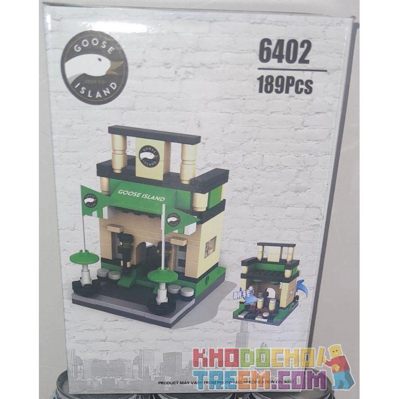 GOOSE ISLAND 6402 Xếp hình kiểu Lego SEASONAL Goose Island Beer Gift Tặng Bia Goose Island 189 khối