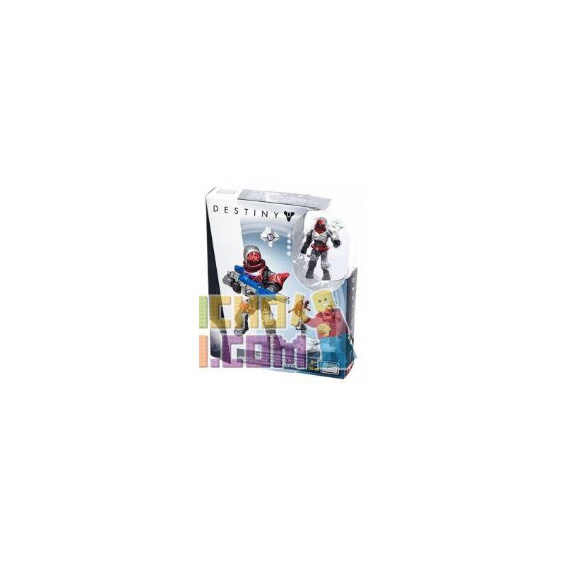 MEGA BLOKS DPJ05 Xếp hình kiểu THE LEGO NINJAGO MOVIE Fate Hunter Starwinder Armory Hunter Starwinder Armory. 38 khối