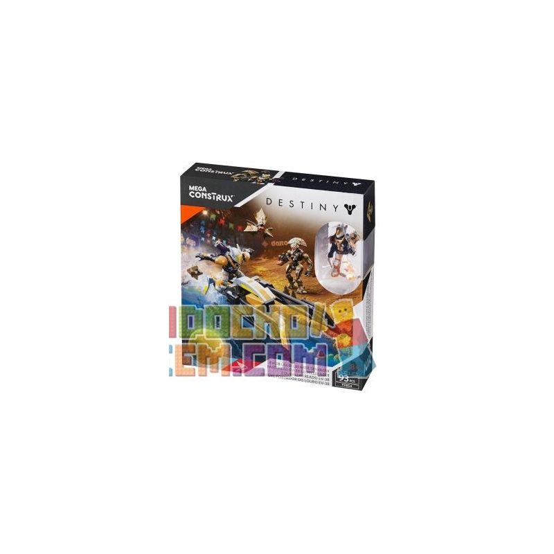 MEGA BLOKS FFB54 Xếp hình kiểu THE LEGO NINJAGO MOVIE Fate EV-38 Laurelbearer Sparrow Speed 93 khối