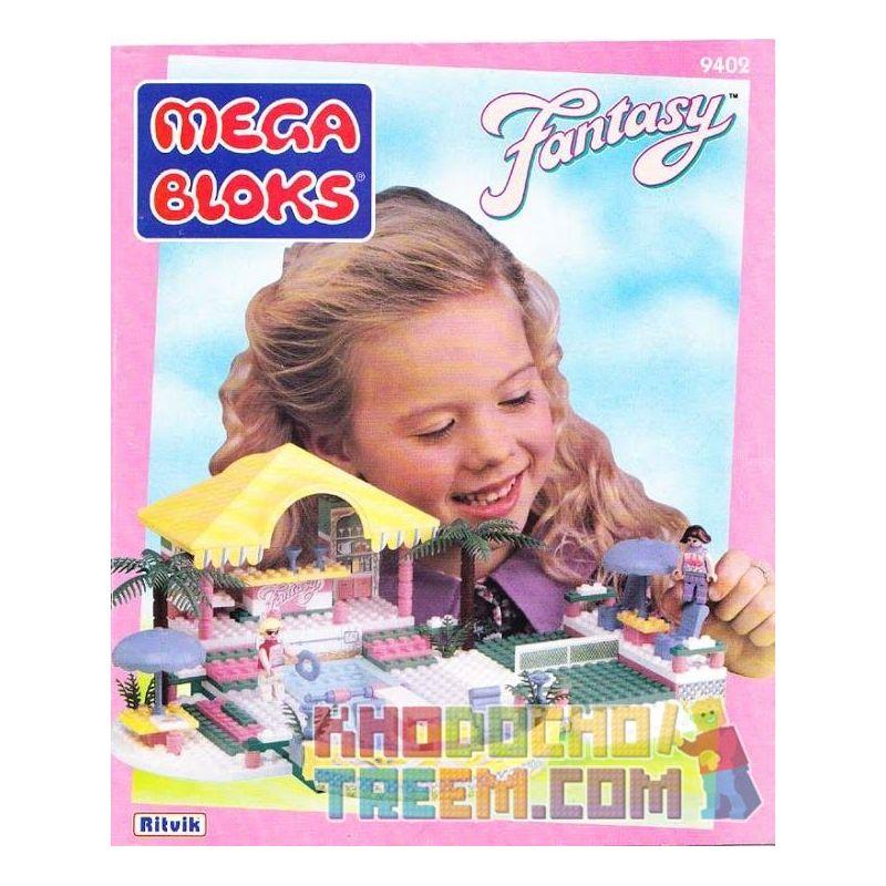 MEGA BLOKS 9402 Xếp hình kiểu Lego FRIENDS Sunshine Gardens Khu Vườn ánh Nắng 285 khối