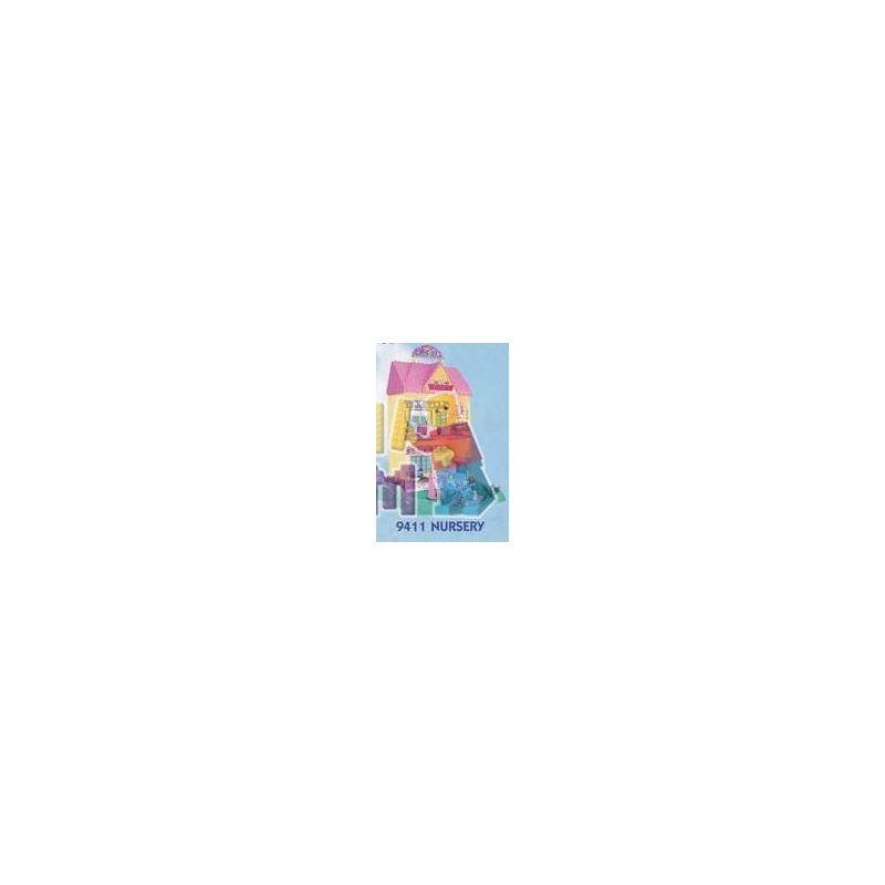 MEGA BLOKS 9411 Xếp hình kiểu Lego FRIENDS Nursery Nhà Trẻ 110 khối