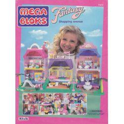 MEGA BLOKS 9404 Xếp hình kiểu Lego FRIENDS Shopping Avenue Shopping Street Phố Mua Sắm 310 khối
