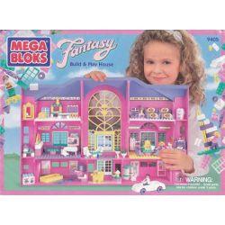 MEGA BLOKS 9405 Xếp hình kiểu Lego FRIENDS Build & Play House Build And Passed Home Xây Dựng Và Chơi Nhà 225 khối