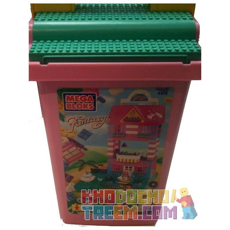 MEGA BLOKS 9415 Xếp hình kiểu Lego FRIENDS Bulk Bucket Large Bucket Thùng Lớn 350 khối