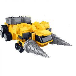 STAR DIAMOND 82631 YZ DIAMOND 82631 Xếp hình kiểu Lego TRANSFORMERS Miniforce Mini-agent Team Mike Mike. 273 khối
