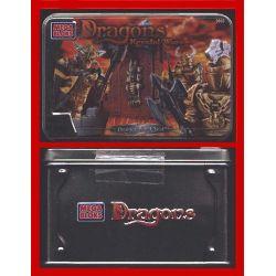 MEGA BLOKS 9866 Xếp hình kiểu Lego Draigar War Chest Draigar War Box Hộp Chiến Tranh Draigar 24 khối