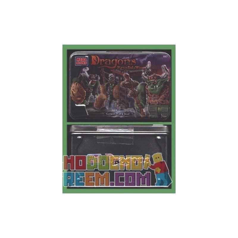 MEGA BLOKS 9867 Xếp hình kiểu Lego Vorgan War Chest Vorgan War Box Hộp Chiến Tranh Vorgan 24 khối
