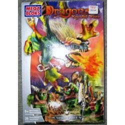 MEGA BLOKS 9873 Xếp hình kiểu Lego Vorgan Attacked Cuộc Tấn Công Vorgan 24 khối