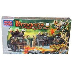 MEGA BLOKS 9876 Xếp hình kiểu Lego Marauder's Ambush Paleduker's Ambush Phục Hồi Của Paleduker. 140 khối